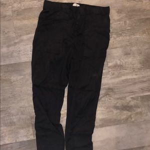 Lou & Grey size small black pants elastic waste
